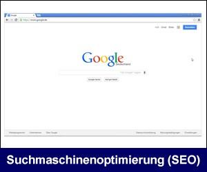 Suchmaschinenoptimierung, (SEO) - Google Optimierung für Ihre Website(s) - (Google und das Google-Logo sind eingetragene Marken von Google Inc., Verwendung mit Genehmigung.)