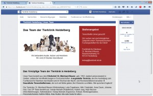 Tierklinik HD Facebook Relaunch