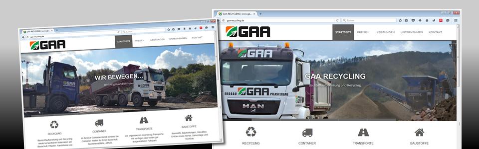 Baustoffrecycling und Containerdienst
